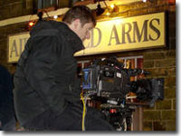Filming the Heartbeat Christmas episode - 17 November 2005