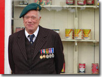 Alf Ventress, VE day parade, 26 June 06