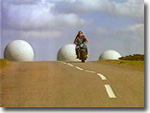 "RAF Fylingdales ""Golf Balls"" replaced by the new ""Pyramid"" in 1992 / 1993"