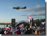 Last Night of the Proms, Flyover, Castle Howard