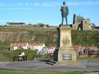 Captain James Cook, Whitby