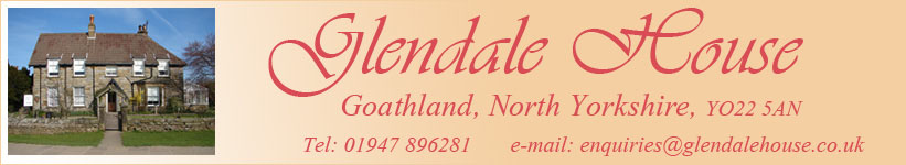 Accommodation in Goathland, Glendale House Goathland, Where to stay in Goathland, Bed and breakfast Goathland