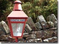 Goathland station lamp