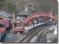 Goathland station platform