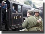 Wartime weekend in Goathland